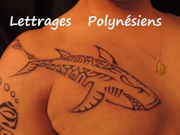 Lettrages Polynesiens