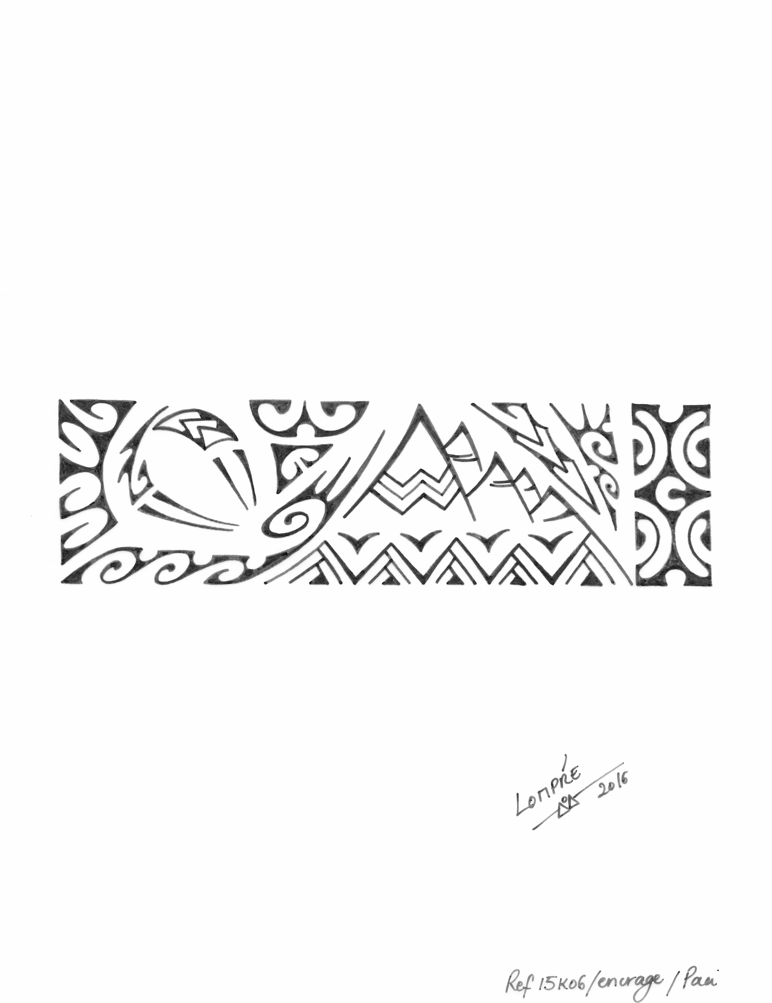 inspiration tatouage polynesien