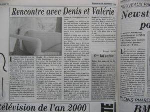 La Dépêche Dimanche – 19 novembre 1995
