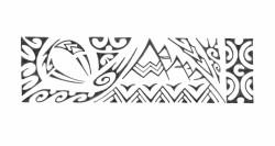 Polynesien style romantique et animalier on décripte facilement un grand requin