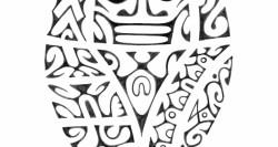 Tatouage polynesien Rond d'épaule